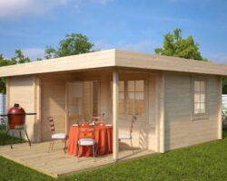 Fritidshus med Terrass Oscar