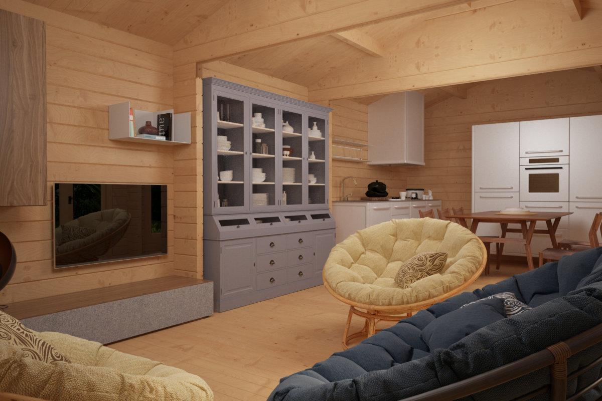 Timmerstuga Hansa Garden Room C