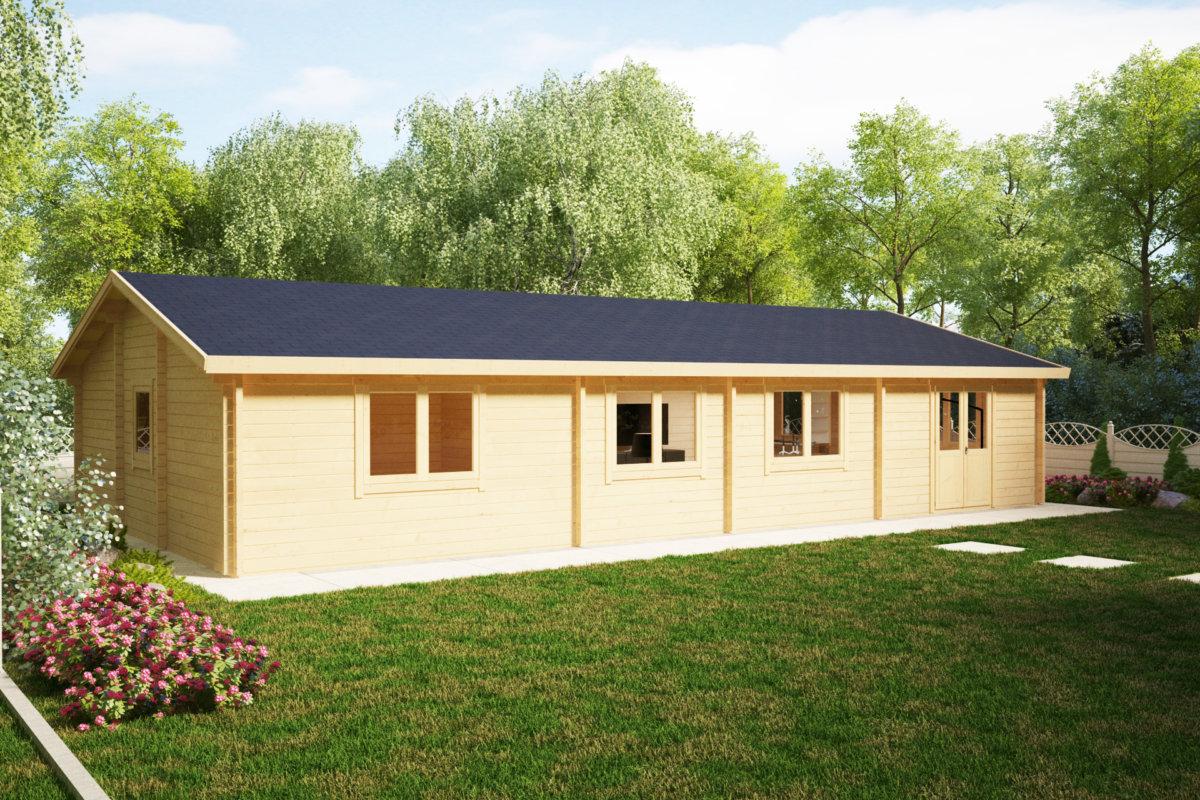 Attefallshuset 24 - Köp attefallshus, friggebod och fritidshus ...