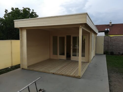 Skräddarsytt gästhus med två sovrum
