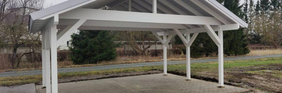 Trä Carport Henley XL 5 x 6 m
