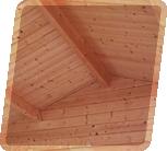 Robust takkonstruktion som garanterar minst 120-200 kg/m2