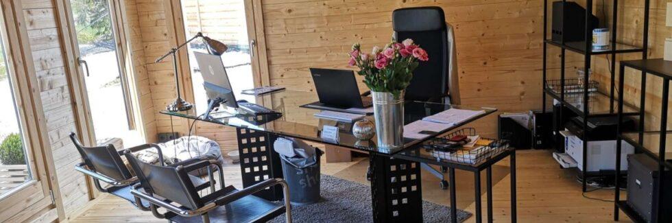 7 bra skäl att investera i ett trädgårdskontor