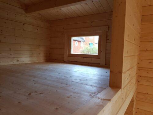 Montering av ett Attefallshus med sovloft